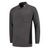 Polosweater_Tricorp_TS2000_302001_Donkergrijs/zwart_